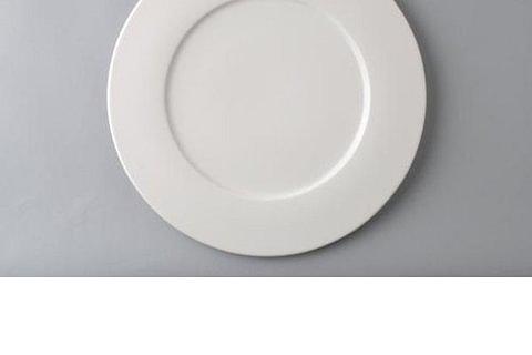 RAK Fine Dine Teller flach 33cm uni weiss
