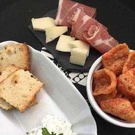 Vari snacks e aperitivi