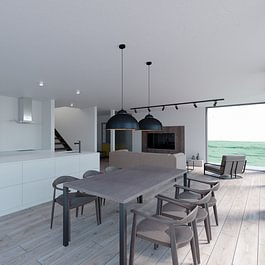3D intérieur villa familiale 1