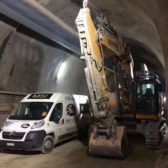 Intervention tunnel