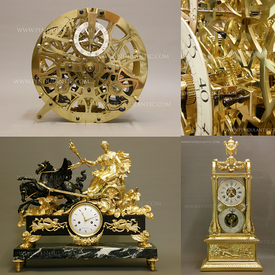 Antique Clocks - Pendulantic, Loutz Christian