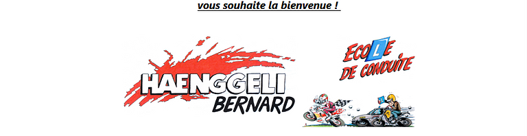 École de conduite Bernard Haenggeli