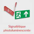 signalétique photoluminescente