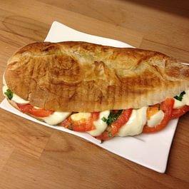 Panini maison tomate mozzarella