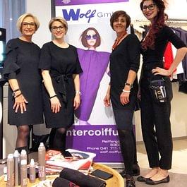 PKZ Fashion Event April 2018 v.l.n.r Gaby Wolf, Andrea Kündig, Irene Heggli, Dominica Worthington