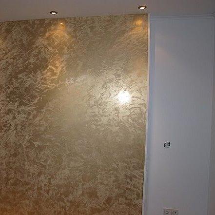 stucco veneziano - gold