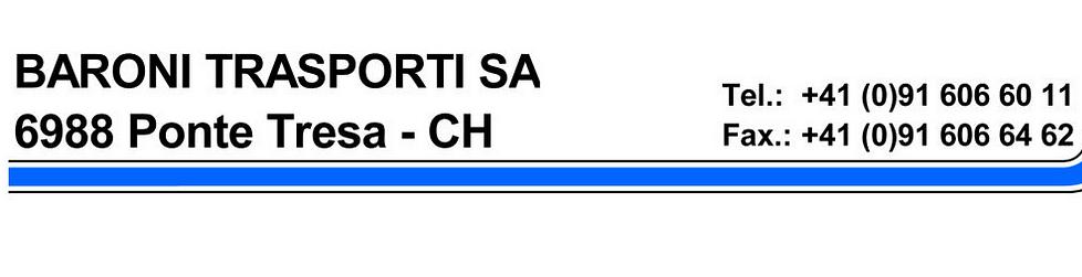 Baroni Trasporti SA