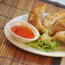 Raviolis grillés porc