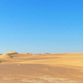 Unsere Lastkarawane in der Wüste von Marokko