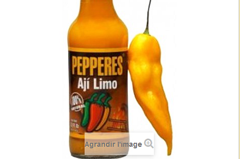 Sauce piquante Aji Limo Pepperes 180g