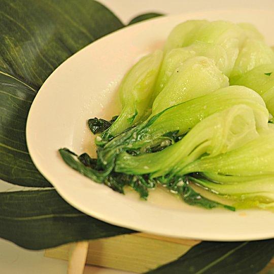 """Légume chinois """"Bakchoi"""" à la sauce huître"""