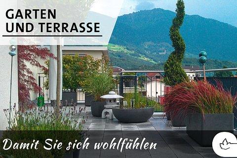 Garten- und Terrassen-Flair
