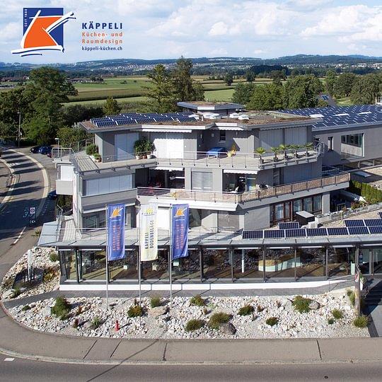 Geschäftshaus, KÄPPELI AG, Küchen- und Raumdesign