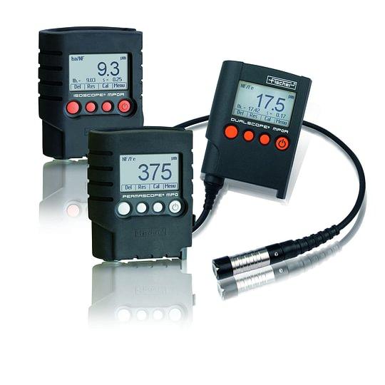 MP0 Gerätefamilie für die einfache Schichtdickenmessung von Lacken oder galvanisierten Schichten