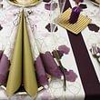 Servietten, Tischläufer, Tête à Tête, Tischsets und vieles mehr fürs Gastgewerbe