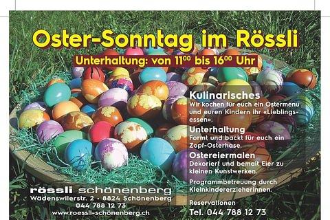 Ostern im Rössli