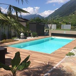 Lattion & Veillard / Paysagiste / Aménagement et réalisation d'une piscine