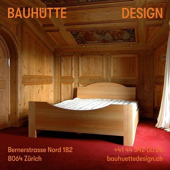 Doppelbett in Lärche geölt
