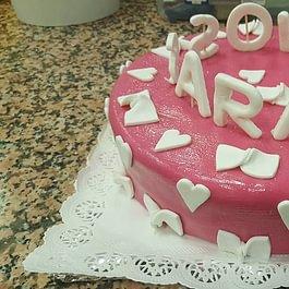 gâteau imprimé anniversaire
