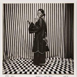 Oumou Bakayoko photographiée par Malick Sidibé.