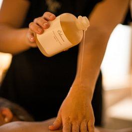 Massage du dos relaxant