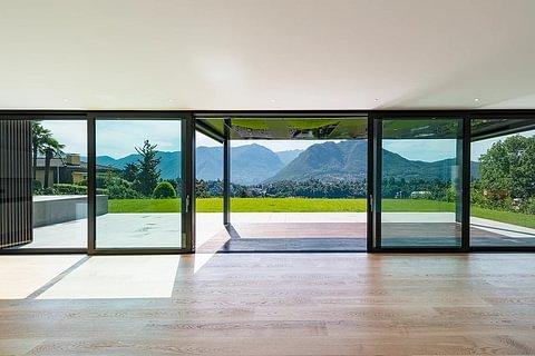 Lugano-Breganzona Appartamento 4,5 locali con giardino e vista lago