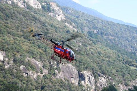 Volo con elicottero SA 315 B Lama