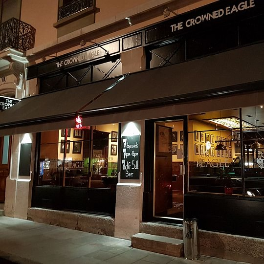 The Crowned Eagle Bar