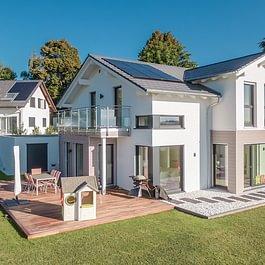 Villa Mistral sur la Côte (VD) – Villa Evolution 154 Variante 5 avec garage double et sous-sol.