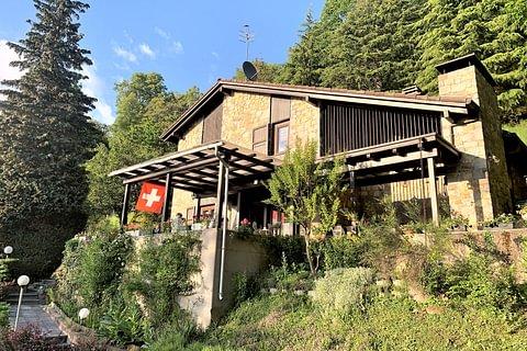 Iseo-Bioggio Casa Rustica di 5,5 locali in vendita