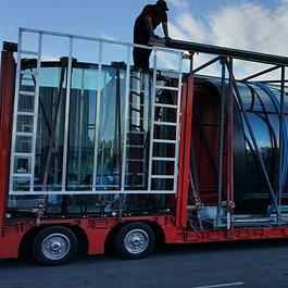 Scania semi sur baissée extensible - Carlos Transports Elévations SA