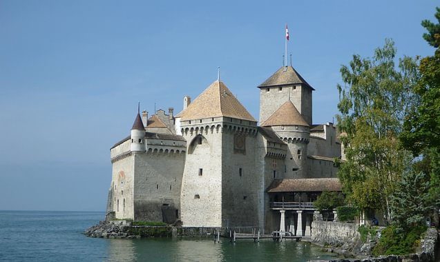 Réfection de la tour de garde du château de Chillon