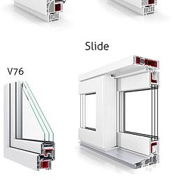 Fenêtres PVC, fenêtres PVC ALU, bois ou bois Alu