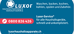 Luxor Haushaltsapparate AG Ihr kompetenter Partner