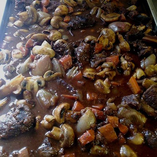 Fassona (manzo piemontese) alla bourguignonne