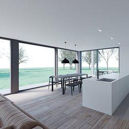 3D intérieur villa familiale 2