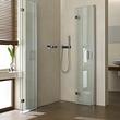 Platzsparende Dusche