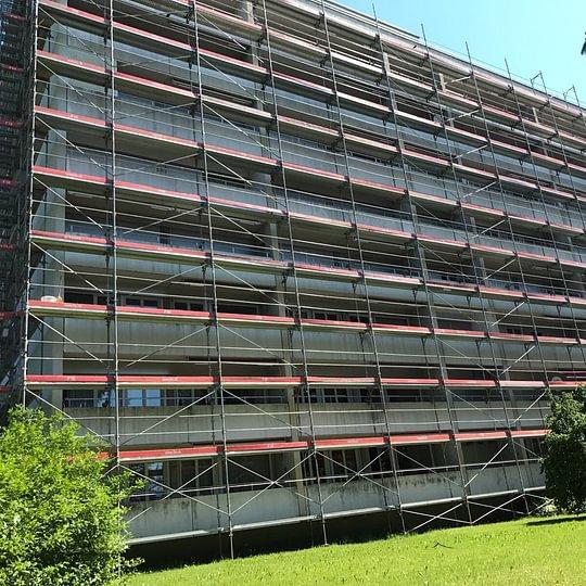 Fassade Renovation (Vorher)