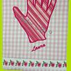 Asciugapiatti con ricamo personalizzato (appliqué)