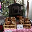 Holzofenbrot am Weihnachtsmarkt