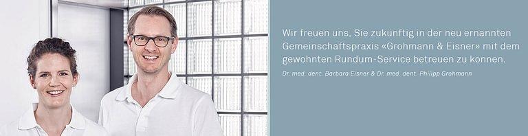 Grohmann & Eisner Zahnärzte Mutschellen