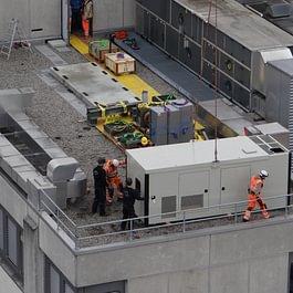 Inselspital Bern Ersatz Notrstromanlage NEA