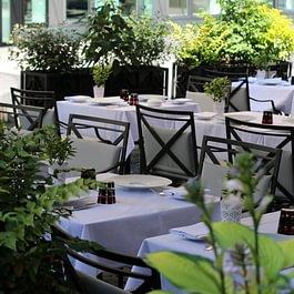 Terrasse Restaurant de la Cigogne