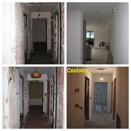 Rénovatoin des couloirs