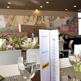 Restaurant Le Vélodrome - Aigle - repas d'entreprise