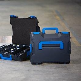 Die L-BOXXen Familie ist die durchgängige Mobilitätslösung für den sicheren und komfortablen Werkzeugtransport.