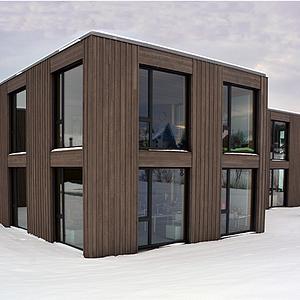 Nouvelle construction de l'école de Vaulruz à Fribourg