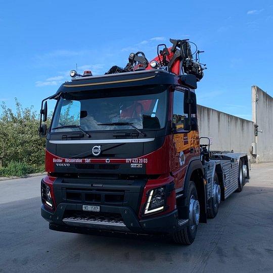 Birchler Récupération Sàrl - camion grapin