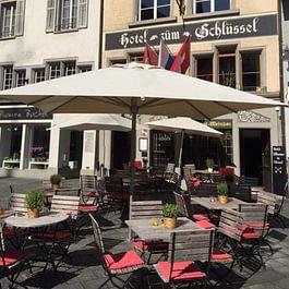 Terrasse am Franziskanerplatz - dem schönsten Platz in der Altstadt