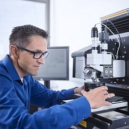 Bestimmung der Mikrohärte mittels Fischerscope HM500